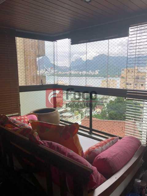 Varanda - Apartamento Lagoa,Rio de Janeiro,RJ À Venda,3 Quartos,205m² - JBAP31022 - 10