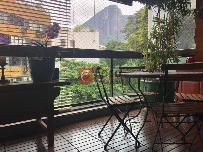 Varandaat 5 - Apartamento Lagoa,Rio de Janeiro,RJ À Venda,3 Quartos,205m² - JBAP31022 - 3