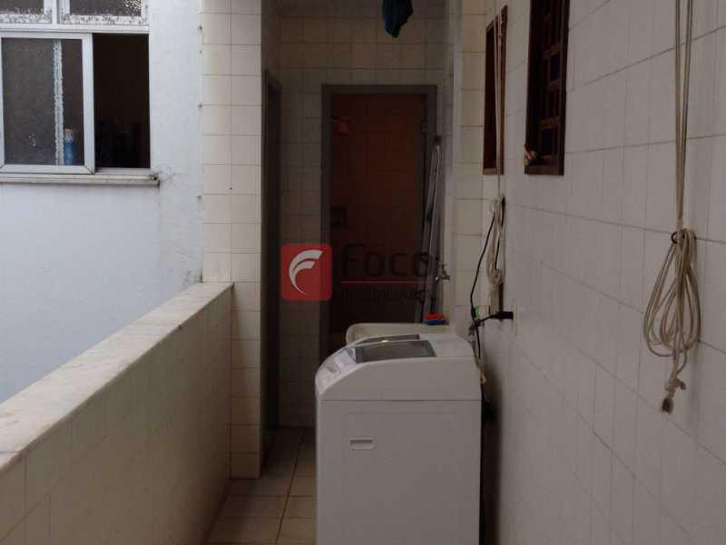 ÁREA DE SERVIÇO - Apartamento à venda Rua Paula Matos,Santa Teresa, Rio de Janeiro - R$ 490.000 - JBAP31031 - 17