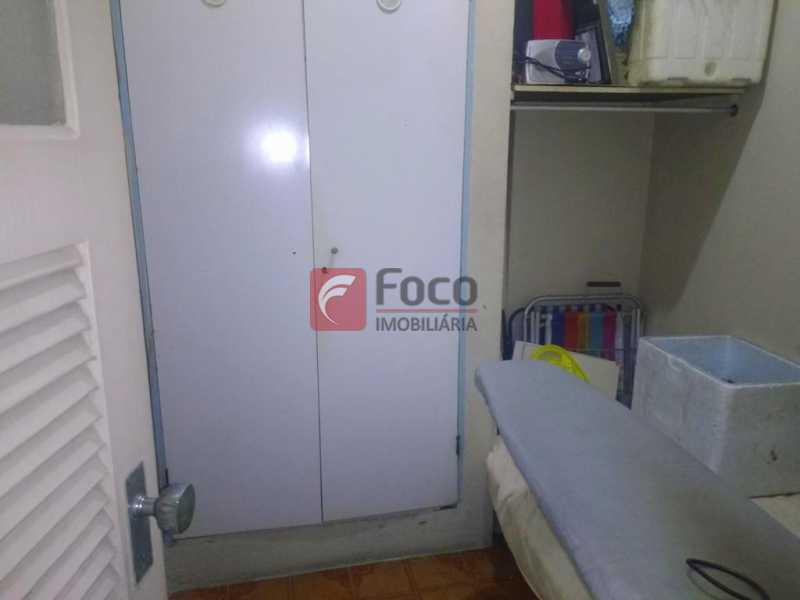 QUARTO EMPREGADA - Apartamento à venda Rua Soares Cabral,Laranjeiras, Rio de Janeiro - R$ 1.100.000 - FLAP32074 - 22