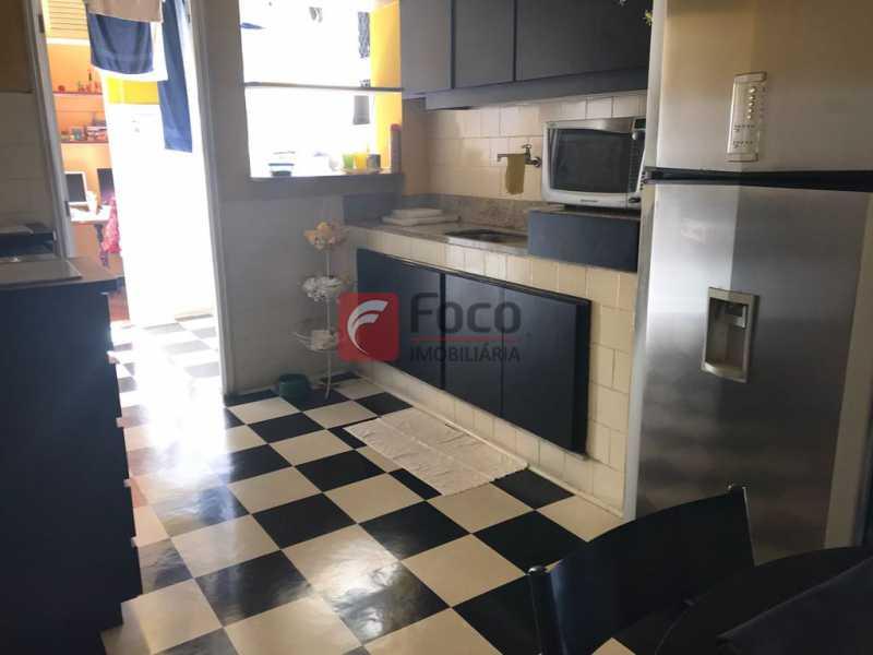 cozinha vista - Apartamento à venda Rua Macedo Sobrinho,Humaitá, Rio de Janeiro - R$ 870.000 - JBAP20833 - 10