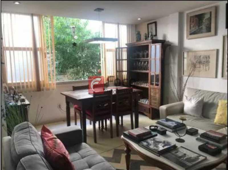 sala - Apartamento à venda Rua Baronesa de Poconé,Lagoa, Rio de Janeiro - R$ 950.000 - JBAP20848 - 1