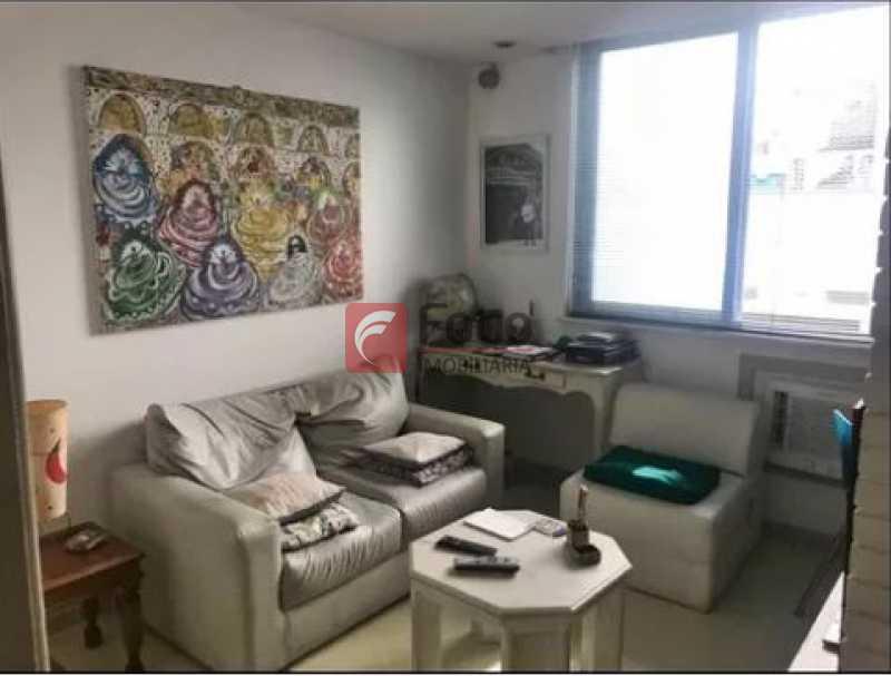 quarto 1 - Apartamento à venda Rua Baronesa de Poconé,Lagoa, Rio de Janeiro - R$ 950.000 - JBAP20848 - 7