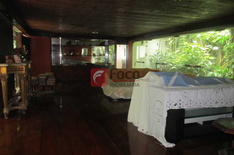 LIVING - Casa à venda Rua Engenheiro Alfredo Duarte,Jardim Botânico, Rio de Janeiro - R$ 4.800.000 - JBCA40041 - 8