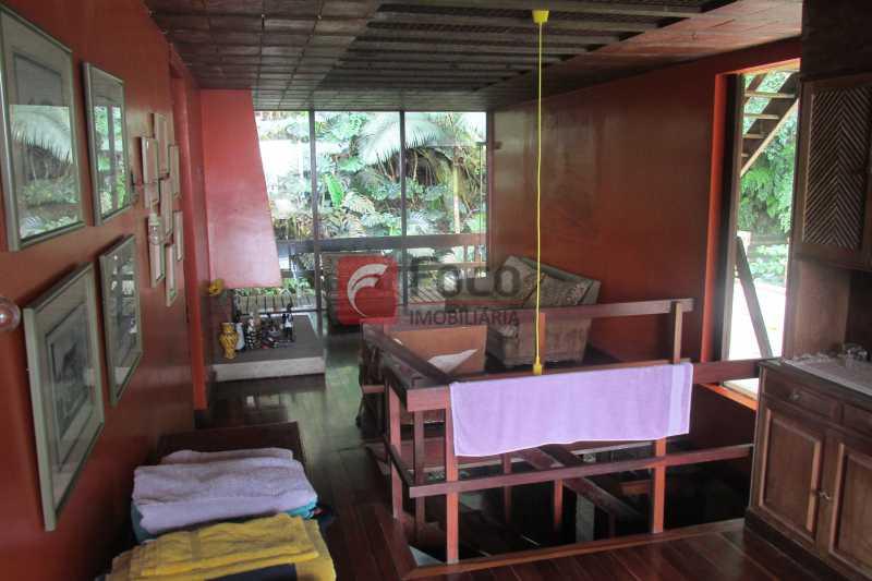 SALA INTIMA 1 - Casa à venda Rua Engenheiro Alfredo Duarte,Jardim Botânico, Rio de Janeiro - R$ 4.800.000 - JBCA40041 - 1