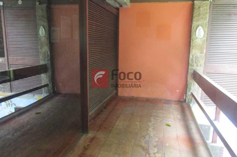 VARANDA - Casa à venda Rua Engenheiro Alfredo Duarte,Jardim Botânico, Rio de Janeiro - R$ 4.800.000 - JBCA40041 - 10