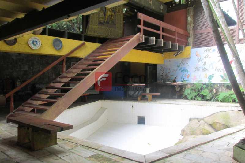 PISCINA - Casa à venda Rua Engenheiro Alfredo Duarte,Jardim Botânico, Rio de Janeiro - R$ 4.800.000 - JBCA40041 - 26