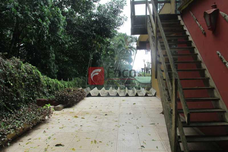 TERRAÇO  - Casa à venda Rua Engenheiro Alfredo Duarte,Jardim Botânico, Rio de Janeiro - R$ 4.800.000 - JBCA40041 - 27
