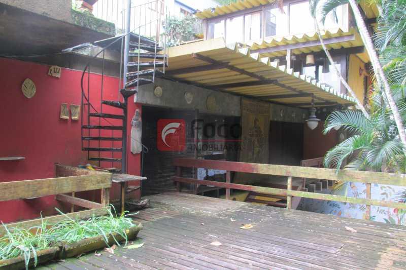 TERRAÇO C/DECK - Casa à venda Rua Engenheiro Alfredo Duarte,Jardim Botânico, Rio de Janeiro - R$ 4.800.000 - JBCA40041 - 23