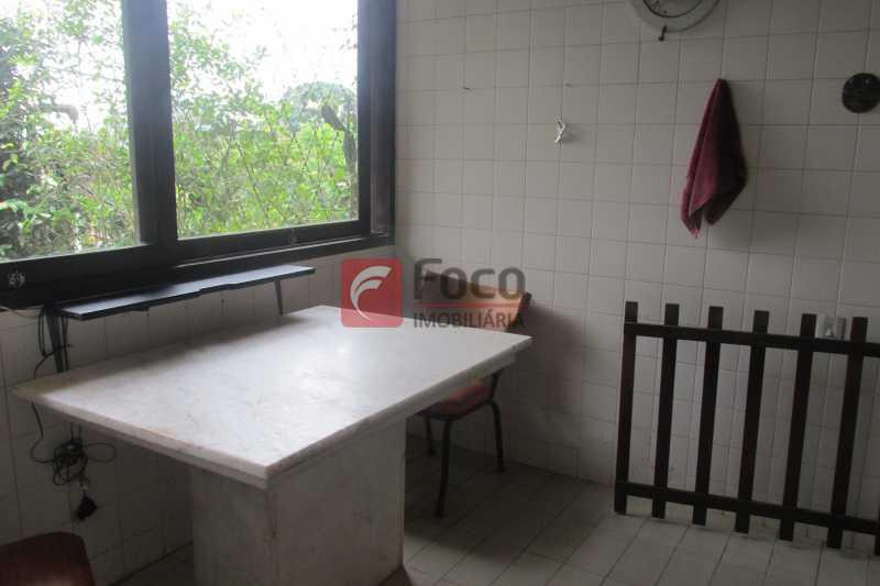 SALA DE ALMOÇO - Casa à venda Rua Engenheiro Alfredo Duarte,Jardim Botânico, Rio de Janeiro - R$ 4.800.000 - JBCA40041 - 22