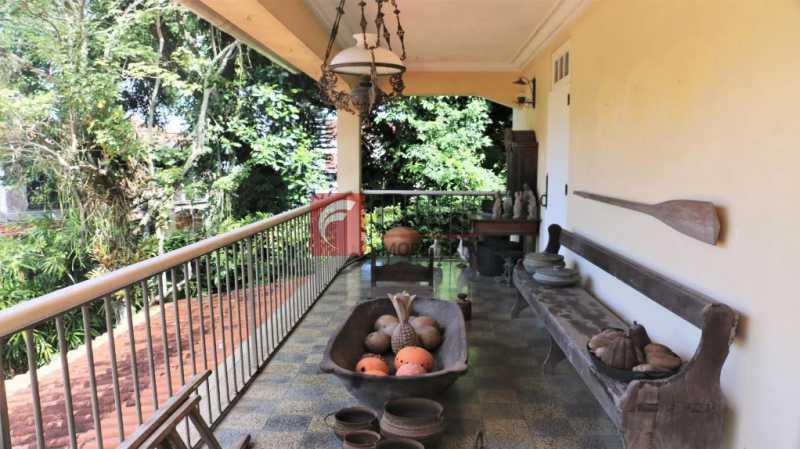 1 - Casa à venda Rua Araucaria,Jardim Botânico, Rio de Janeiro - R$ 3.980.000 - JBCA50027 - 1