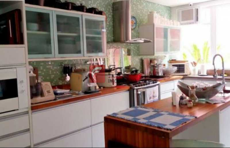 10 - Casa à venda Rua Senador Simonsen,Jardim Botânico, Rio de Janeiro - R$ 7.350.000 - JBCA40042 - 11