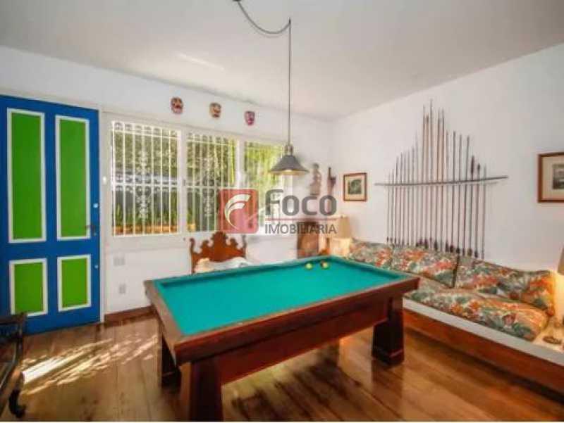 8 - Casa à venda Rua Lópes Quintas,Jardim Botânico, Rio de Janeiro - R$ 5.500.000 - JBCA50028 - 9