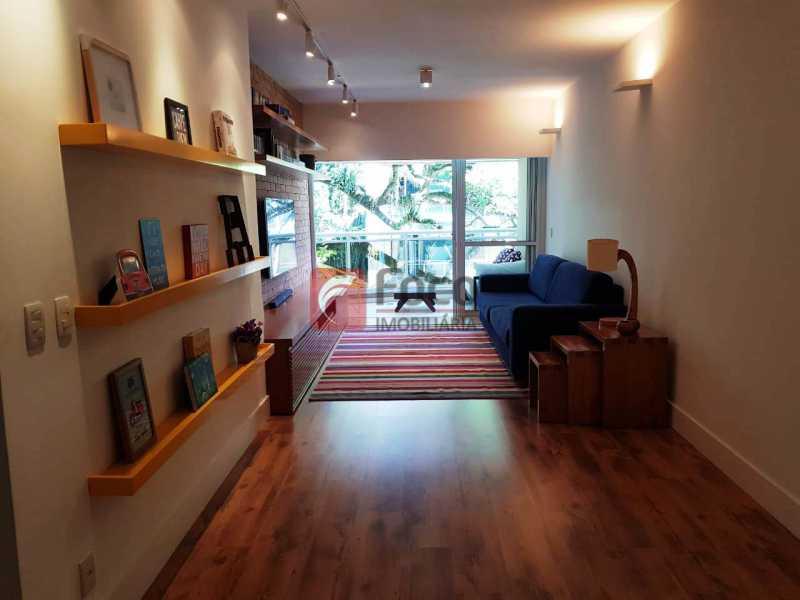 SALÃO - Apartamento à venda Rua Macedo Sobrinho,Humaitá, Rio de Janeiro - R$ 1.850.000 - FLAP32137 - 3