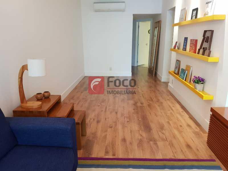 SALÃO - Apartamento à venda Rua Macedo Sobrinho,Humaitá, Rio de Janeiro - R$ 1.850.000 - FLAP32137 - 4