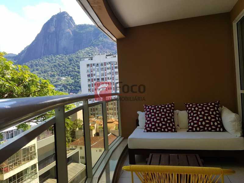 VARANDA - Apartamento à venda Rua Macedo Sobrinho,Humaitá, Rio de Janeiro - R$ 1.850.000 - FLAP32137 - 1