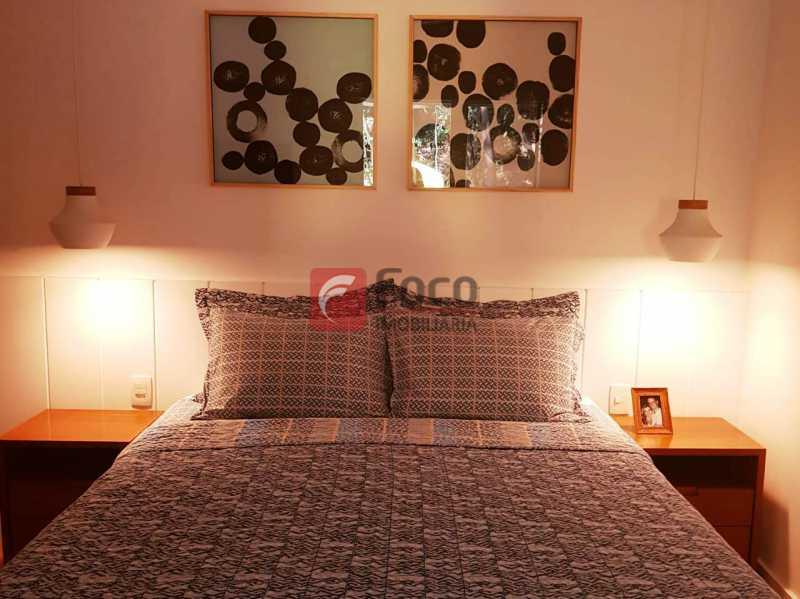 QUARTO SUÍTE - Apartamento à venda Rua Macedo Sobrinho,Humaitá, Rio de Janeiro - R$ 1.850.000 - FLAP32137 - 6