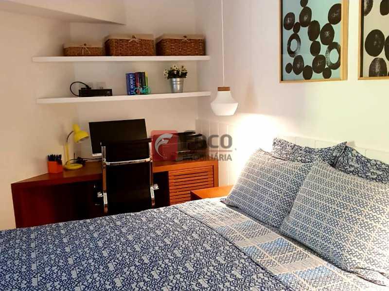 QUARTO SUÍTE - Apartamento à venda Rua Macedo Sobrinho,Humaitá, Rio de Janeiro - R$ 1.850.000 - FLAP32137 - 7