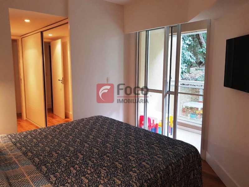 QUARTO SUÍTE - Apartamento à venda Rua Macedo Sobrinho,Humaitá, Rio de Janeiro - R$ 1.850.000 - FLAP32137 - 5