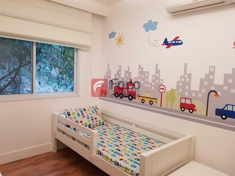 QUARTO 2 - Apartamento à venda Rua Macedo Sobrinho,Humaitá, Rio de Janeiro - R$ 1.850.000 - FLAP32137 - 8
