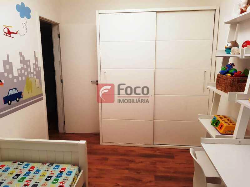 QUARTO 2 - Apartamento à venda Rua Macedo Sobrinho,Humaitá, Rio de Janeiro - R$ 1.850.000 - FLAP32137 - 9