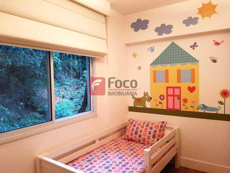 QUARTO 3 - Apartamento à venda Rua Macedo Sobrinho,Humaitá, Rio de Janeiro - R$ 1.850.000 - FLAP32137 - 11