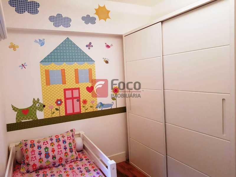 QUARTO 3 - Apartamento à venda Rua Macedo Sobrinho,Humaitá, Rio de Janeiro - R$ 1.850.000 - FLAP32137 - 12
