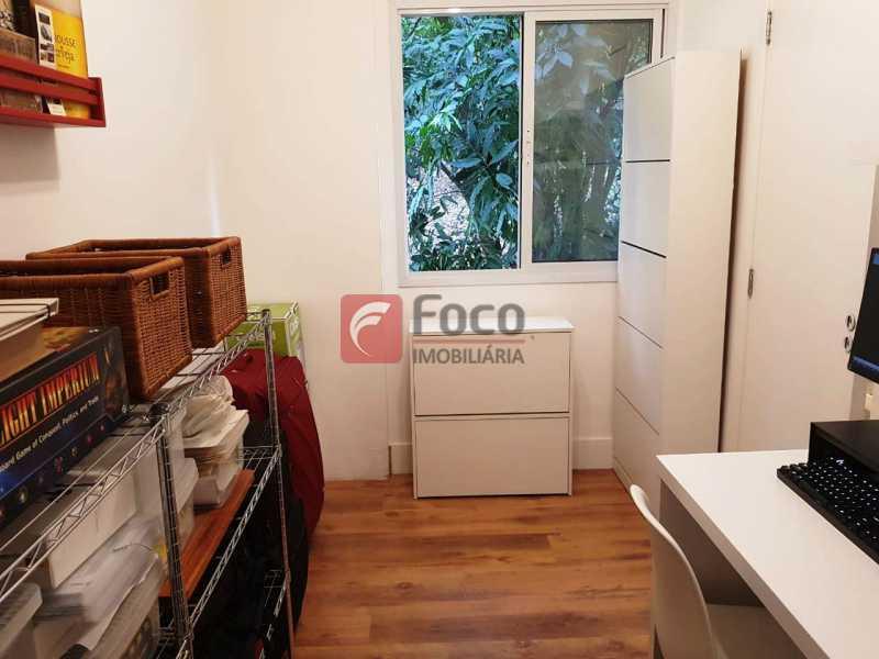 QUARTO EMPREGADA - Apartamento à venda Rua Macedo Sobrinho,Humaitá, Rio de Janeiro - R$ 1.850.000 - FLAP32137 - 19