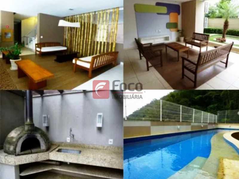 ÁREA LAZER - Apartamento à venda Rua Macedo Sobrinho,Humaitá, Rio de Janeiro - R$ 1.850.000 - FLAP32137 - 20