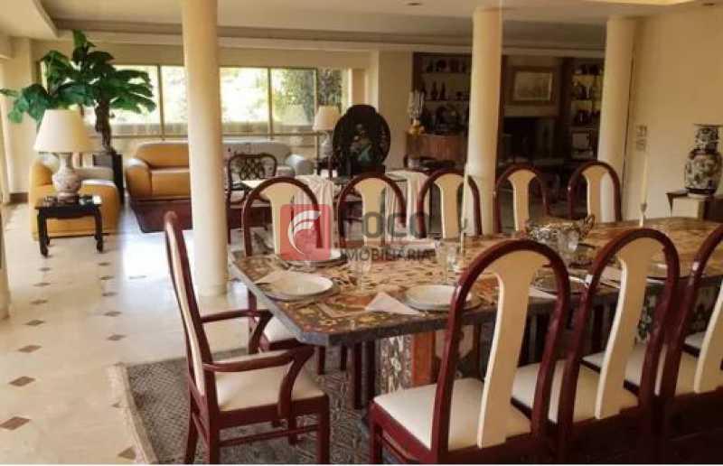 2 - Casa em Condomínio à venda Rua Caio Mário,Gávea, Rio de Janeiro - R$ 6.950.000 - JBCN60001 - 1