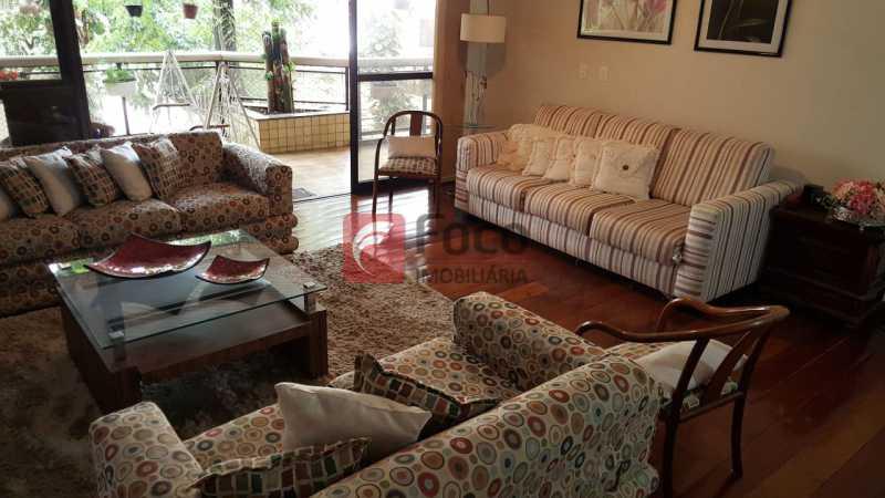 SALA - Apartamento à venda Rua Marquês de Pinedo,Laranjeiras, Rio de Janeiro - R$ 1.990.000 - FLAP40518 - 3