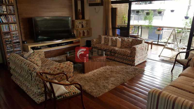 SALA - Apartamento à venda Rua Marquês de Pinedo,Laranjeiras, Rio de Janeiro - R$ 1.990.000 - FLAP40518 - 1