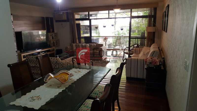 SALA - Apartamento à venda Rua Marquês de Pinedo,Laranjeiras, Rio de Janeiro - R$ 1.990.000 - FLAP40518 - 4