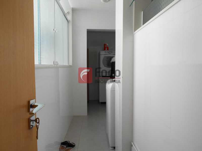 ÁREA SERVIÇO - Apartamento à venda Rua Cardoso Júnior,Laranjeiras, Rio de Janeiro - R$ 950.000 - FLAP32166 - 19