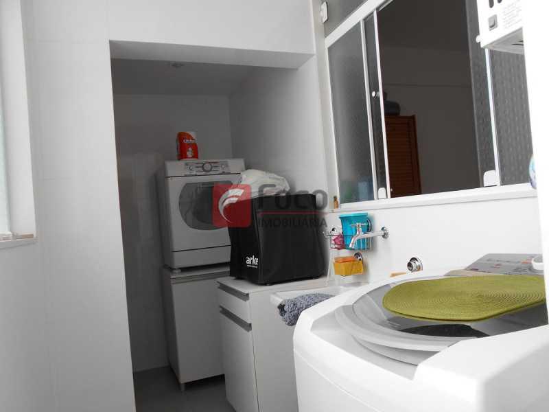 ÁREA SERVIÇO - Apartamento à venda Rua Cardoso Júnior,Laranjeiras, Rio de Janeiro - R$ 950.000 - FLAP32166 - 20