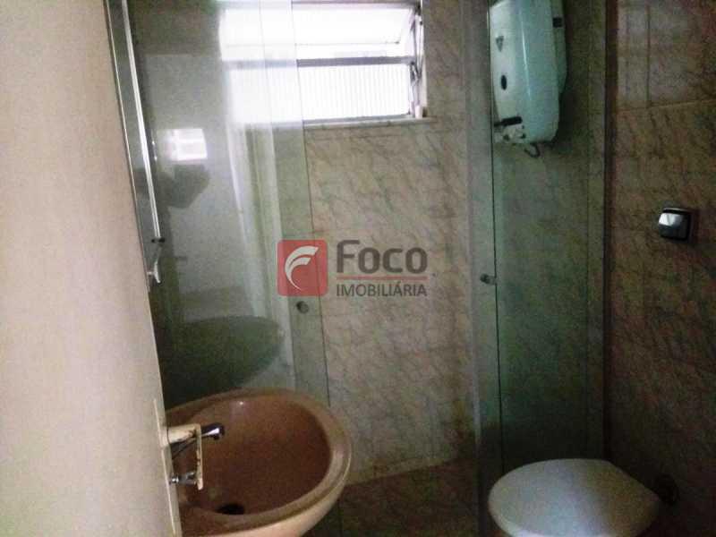 BANHEIRO SOCIAL - Apartamento à venda Rua do Humaitá,Humaitá, Rio de Janeiro - R$ 650.000 - FLAP22342 - 11