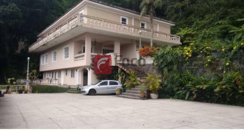 fachada - Casa à venda Rua Tenente Márcio Pinto,Gávea, Rio de Janeiro - R$ 4.800.000 - JBCA130001 - 5
