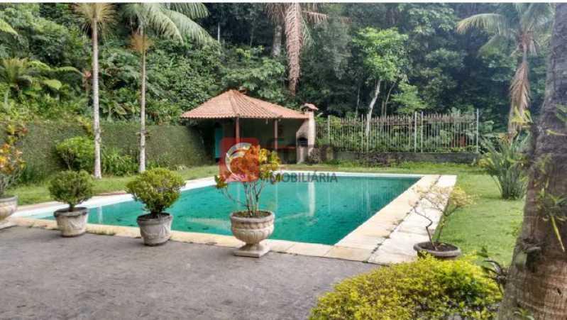 piscina e churrasqueira - Casa à venda Rua Tenente Márcio Pinto,Gávea, Rio de Janeiro - R$ 4.800.000 - JBCA130001 - 1