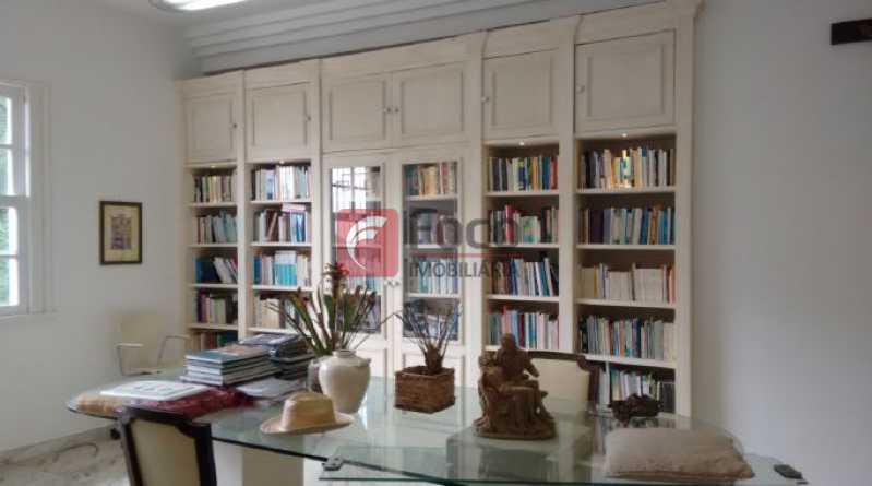 escritorio - Casa à venda Rua Tenente Márcio Pinto,Gávea, Rio de Janeiro - R$ 4.800.000 - JBCA130001 - 11
