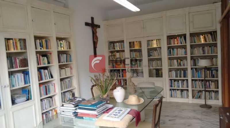 escritório/biblioteca - Casa à venda Rua Tenente Márcio Pinto,Gávea, Rio de Janeiro - R$ 4.800.000 - JBCA130001 - 12
