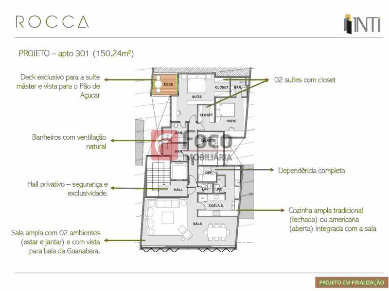 0005 - Apartamento À Venda - Urca - Rio de Janeiro - RJ - FLAP32182 - 9