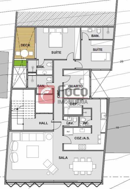 apartamento-201-13876m2 2 - Apartamento À Venda - Urca - Rio de Janeiro - RJ - FLAP32182 - 15