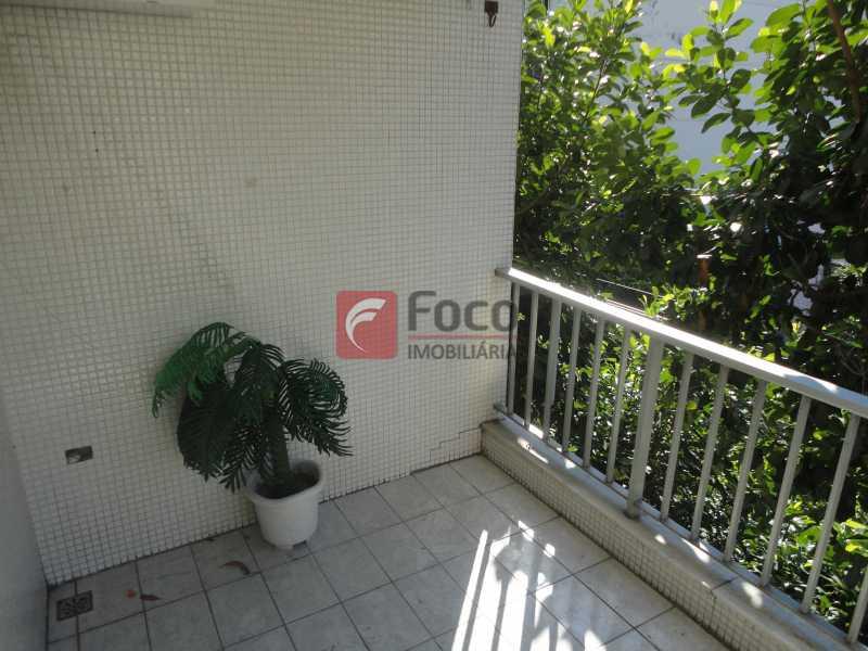 Varanda - Apartamento 2 quartos à venda Tijuca, Rio de Janeiro - R$ 480.000 - JBAP21030 - 1