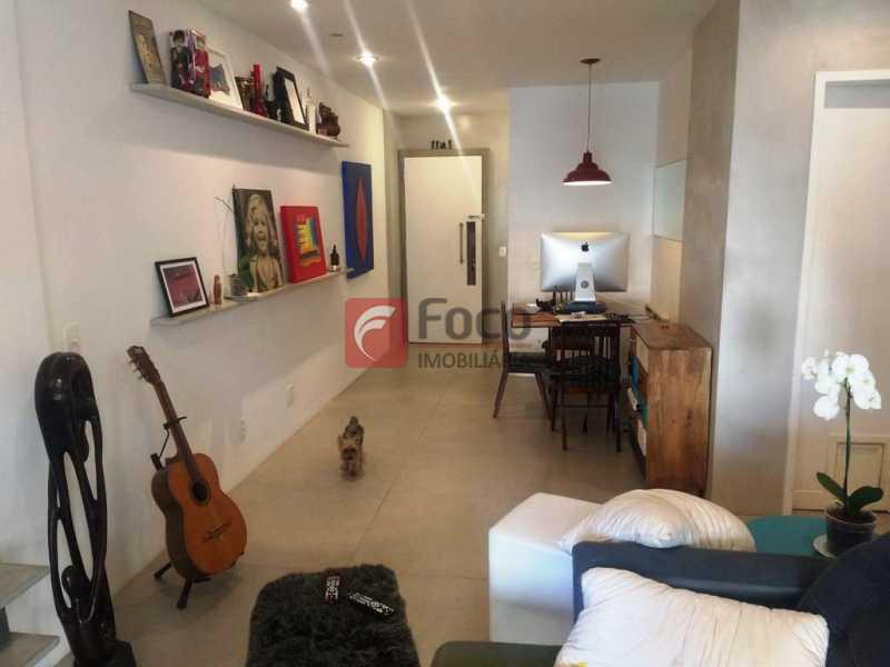 SALA - Apartamento à venda Rua do Humaitá,Humaitá, Rio de Janeiro - R$ 1.080.000 - FLAP22373 - 3