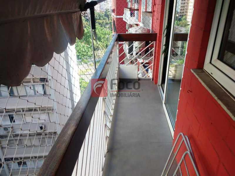 VARANDA - Apartamento à venda Rua do Humaitá,Humaitá, Rio de Janeiro - R$ 1.080.000 - FLAP22373 - 4