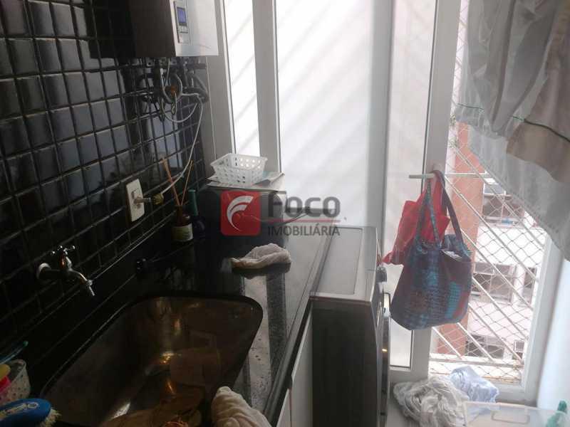ÁREA SERVIÇO - Apartamento à venda Rua do Humaitá,Humaitá, Rio de Janeiro - R$ 1.080.000 - FLAP22373 - 15