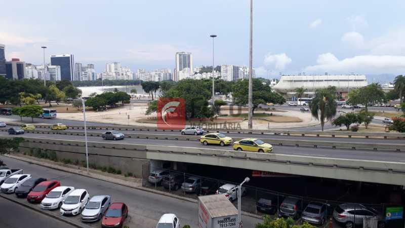 VISTA DA SALA - Apartamento à venda Praia de Botafogo,Botafogo, Rio de Janeiro - R$ 650.000 - FLAP11290 - 5