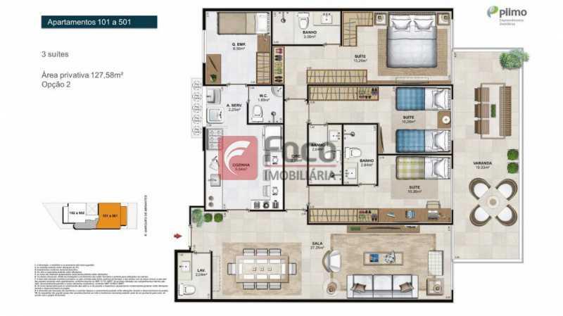 21 - Apartamento à venda Rua Marquês de Abrantes,Flamengo, Rio de Janeiro - R$ 1.295.000 - FLAP32265 - 22