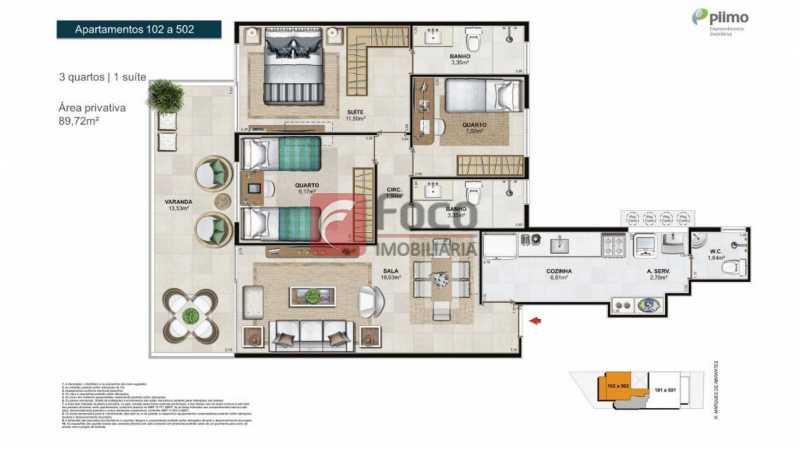 3 - Apartamento à venda Rua Marquês de Abrantes,Flamengo, Rio de Janeiro - R$ 1.295.000 - FLAP32265 - 28