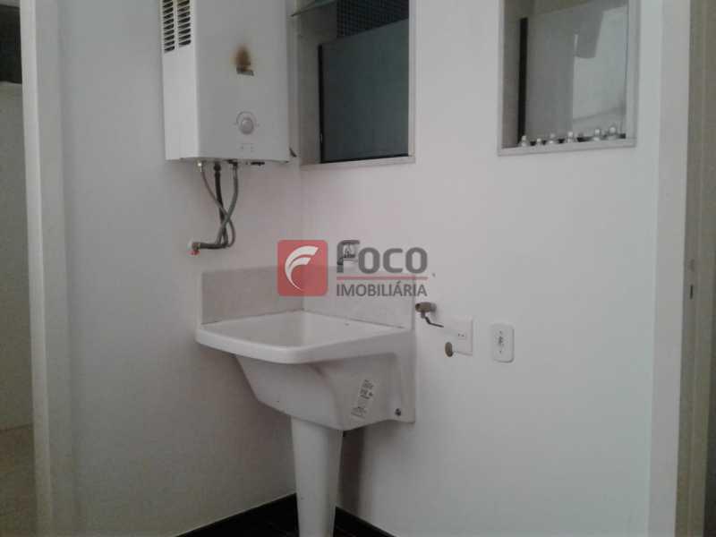 ÁREA SERVIÇO - Apartamento à venda Rua Fonte da Saudade,Lagoa, Rio de Janeiro - R$ 1.850.000 - FLAP32266 - 24